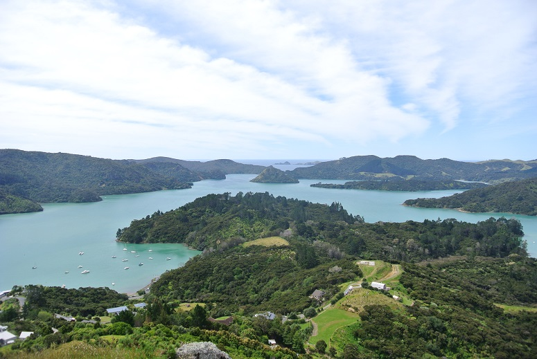 Bay of Islands, tropische eilanden in Nieuw-Zeeland
