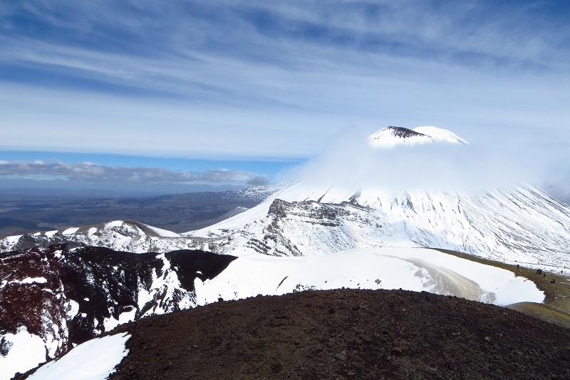 Mt. Doom tijdens Tongariro Crossing in Nieuw-Zeeland