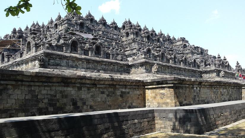 Borobudur, Java, Indonesië