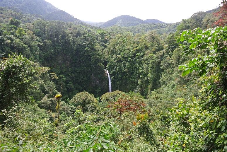 La Fortuna waterval, Costa Rica