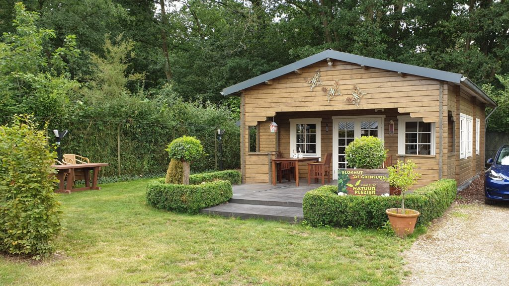 Blokhut, camping Natuurplezier, Reuver, Limburg