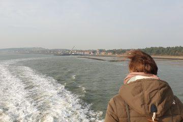 Op de boot naar Vlieland