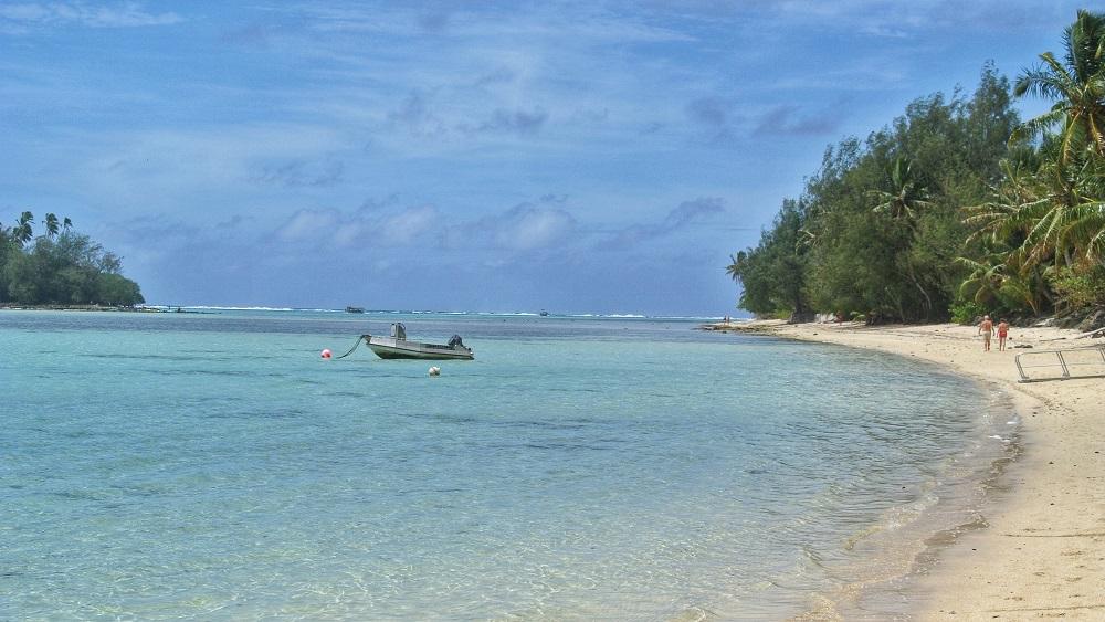 Cookeilanden lagune